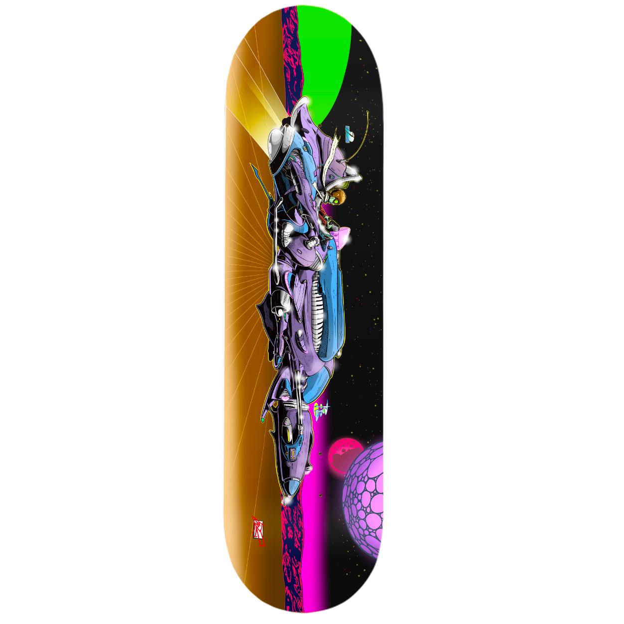White skateboard - Tigerclaw Supplies - Spraying Board